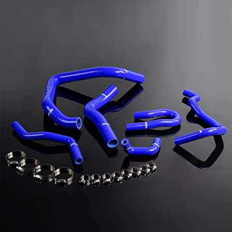 Amazon.com: Silicone Radiator Hose Kit For HONDA CIVIC Type R EK EG B16A B18C EX SI KIT: Automotive