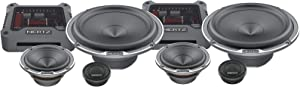 "Hertz MPK 163.3 300W Max 4-Ohm 6.5"" 3 Way Car Audio Speaker Component System"