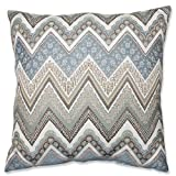 Pillow Perfect Cottage Floor Pillow, 24.5-Inch, Mineral