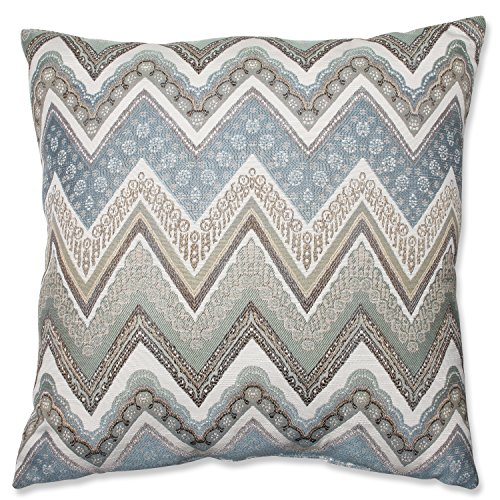 Pillow Perfect Cottage Floor Pillow, 24.5-Inch, Mineral by Pillow Perfect