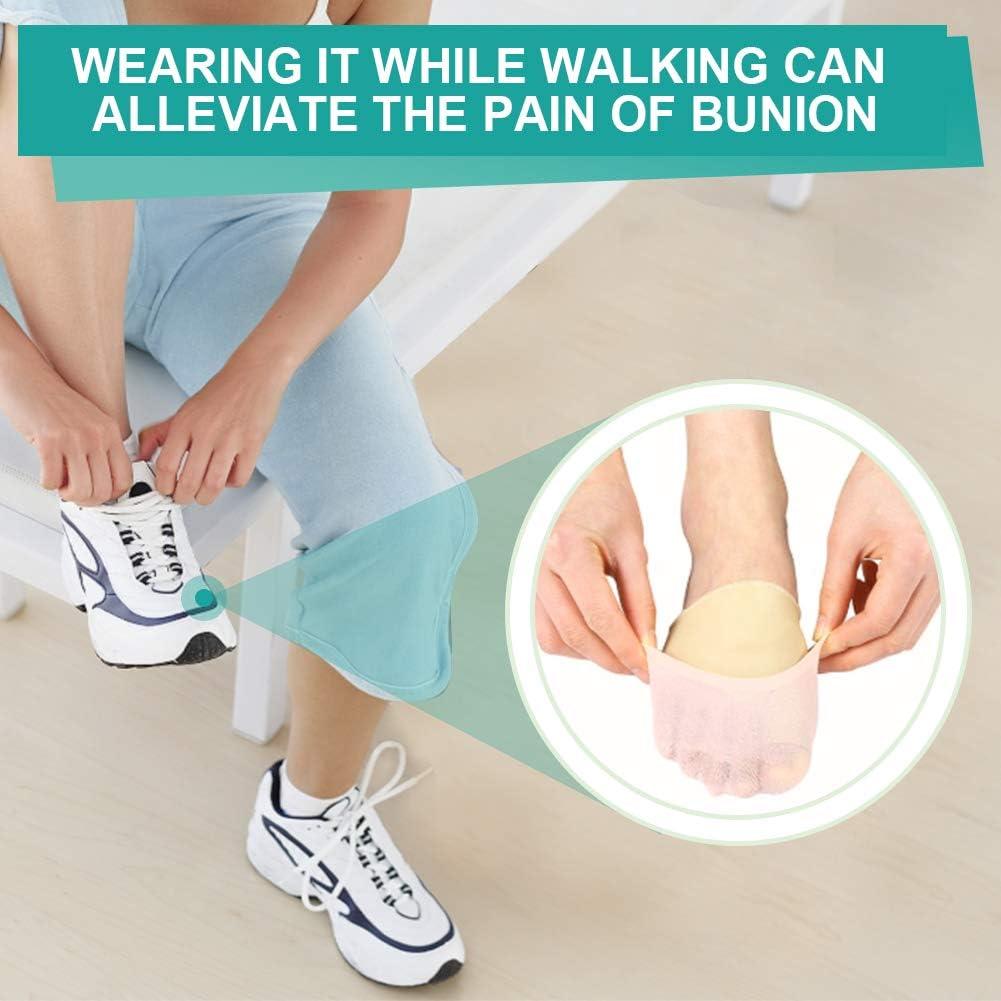 Protector de mangas correctoras para juanetes Hallux Valgus, alivio del dolor, dedos de los dedos grandes, calcetines de gel para dedos de los pies, desgaste en zapatos: Amazon.es: Salud y cuidado personal