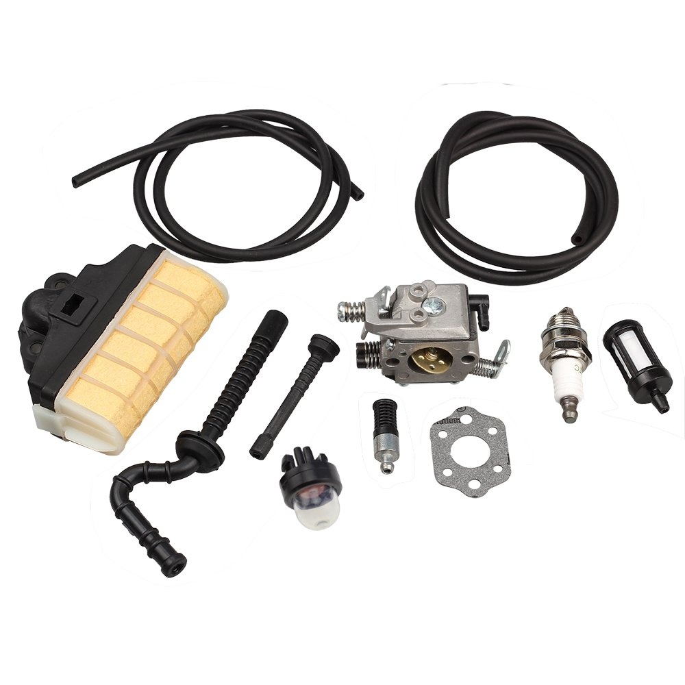 HIPA Carburetor with Repower Kit Air Filter Fuel Line Primer Bulb for STIHL 021 023 025 MS210 MS230 MS250 Easy Start Version Chainsaw by HIPA