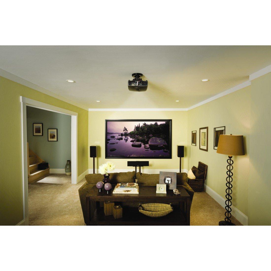 Amazon.com: Sanus VP1 Mount 35 lb Max Tilt & Swivel Projector ...