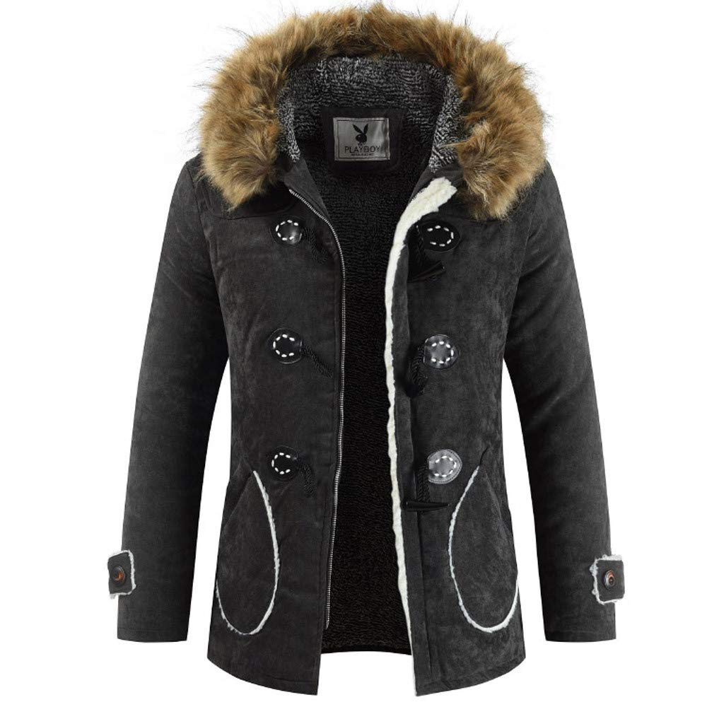 Pandaie-Mens Product OUTERWEAR メンズ B07K85Q6RB ブラック Large