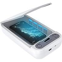 Horcol Desinfección con esterilizador UV, desinfectante portátil para teléfonos celulares con esterilizador para…