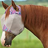 Cashel Company Patterned Fly Mask Horse Mint Maze