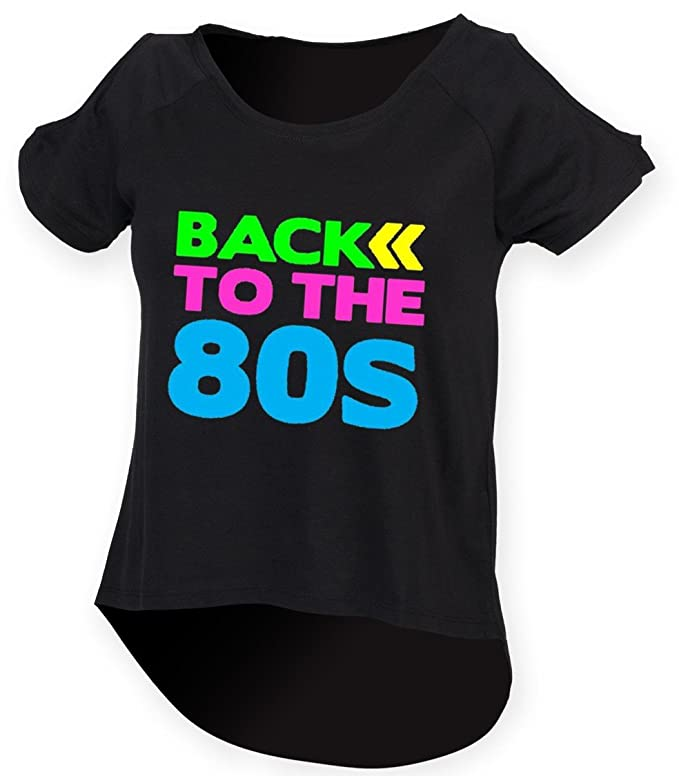 Back to the 80s Droptail T-shirt - Sizes 8 to 18