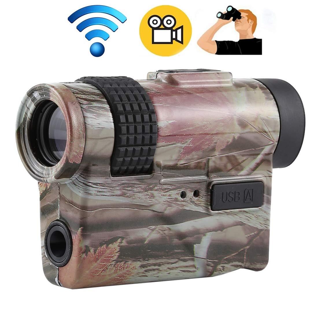 【まとめ買い】 10X 10X B07NXP9QWB WiFi 720P デジタル カメラUSB充電 WiFi Monocular TFカードサポート B07NXP9QWB, ハイバラグン:2329e971 --- arianechie.dominiotemporario.com