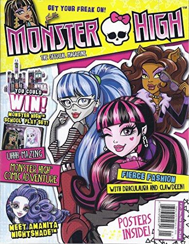 Monster High Magazine (The Official Magazine - January/February 2016)
