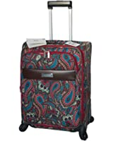 Anne Klein Women's 20-Inch Enchanted Paisley Spinner Upright, Multi-Colored