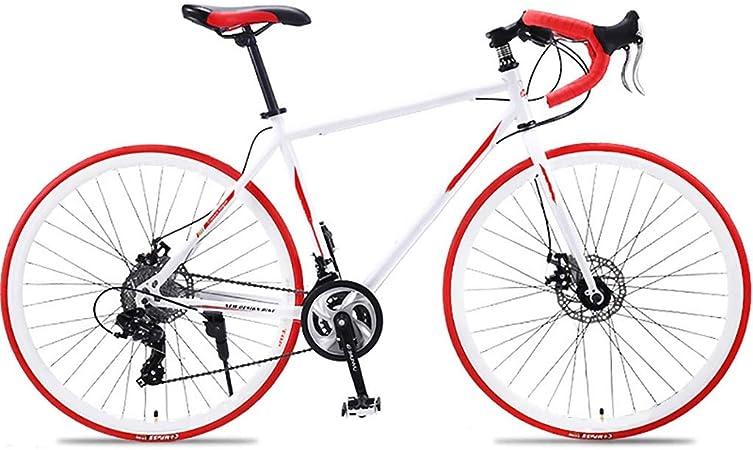 Camino De La Bici Shift 21/27/30 Velocidad Adulto Curva De La Manija De Aluminio Cuadro De La Bicicleta De Bicicletas De Montaña ZYYZXC (Color : D, Size : 27 Speed): Amazon.es: Hogar