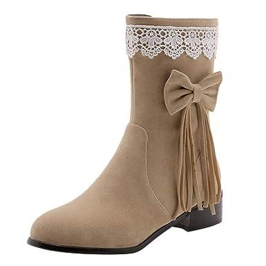 da74a734ac9 Amazon.com  NEARTIME Boots for Women