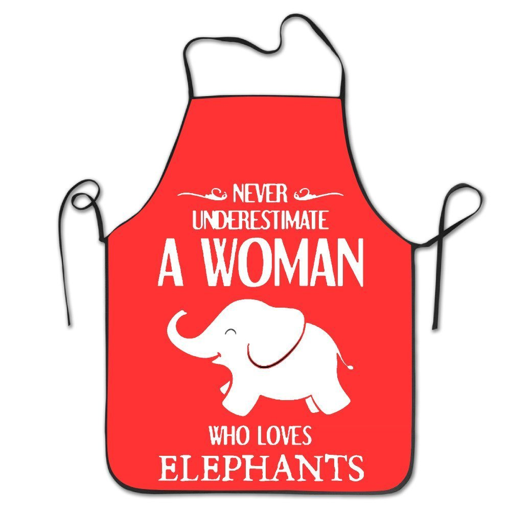 A WOMAN WHO LOVES ELEPHANTS Cooking Aprons Funny Adult Aprons Aprons For Kids Art Aprons For Kids Bulk Painting Aprons For Kids Cooking Aprons For Kids Bulk Cooking