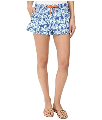 e9934a8991ad29 Lilly Pulitzer Women's 12763 : Run Around Luxletic Short, Bomber Blue Get  Trunky XS