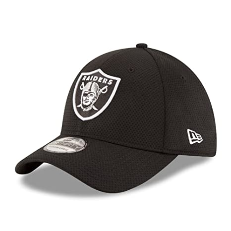 New Era Sideline Tech 39Thirty Oakrai OTC - Cappello Linea Oakland Raiders  da Uomo 0fb7241dca63