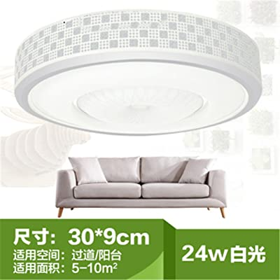 Angeelee Lampe De Plafond Led Ronde Chaleureuse Lumiere Chambre A