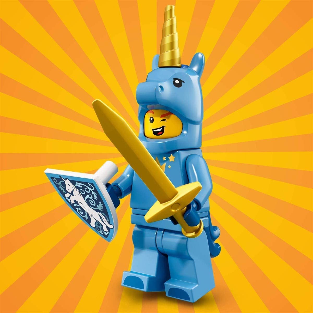 LEGO Minifigures Serie 18 - Chico con disfraz de unicornio: Amazon ...