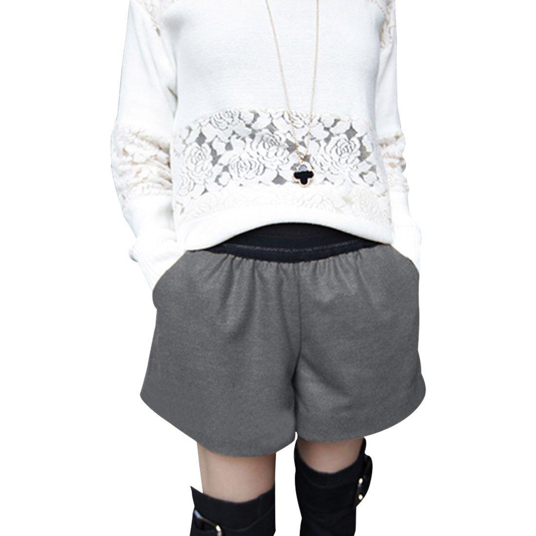 Ladies High Rise Loose Bootcut Pure Autumn Stylish Mini Shorts