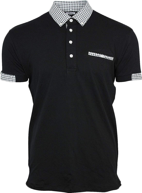 Relco - Polo - Camisas De Polo - Manga Corta - para Hombre Negro ...
