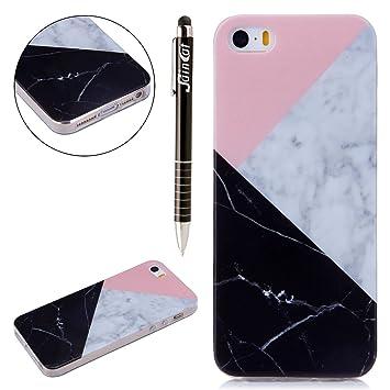 SainCat Funda iPhone 5S Anti-Golpes Case Marble Pattern IMD ...