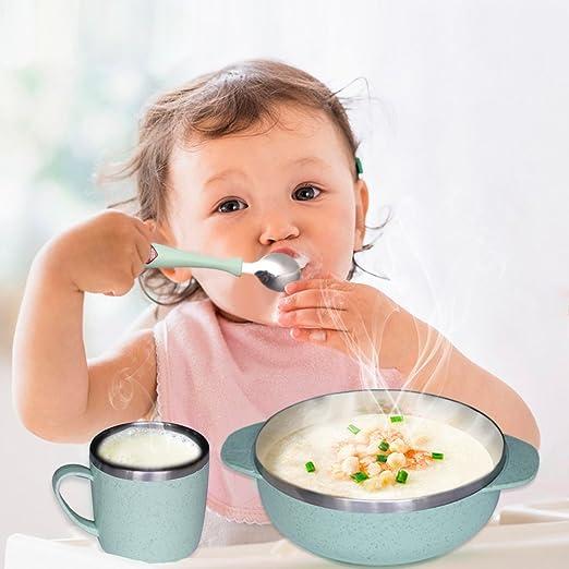 5 pieza - Vajilla infantil, bebé Mealtime Juego para ...