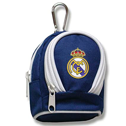 Monedero mochilita mosqueton Real Madrid: Amazon.es ...