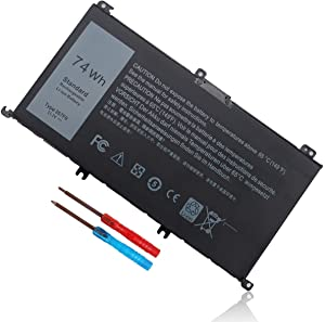 357F9 Laptop Battery Replace with Dell Inspiron 15 7000 7559 7557 7567 7566 7759 15 5576 5577 INS15PD 0GFJ6 357F9 071JF4 71JF4