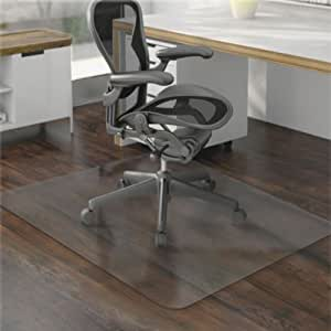 """36 x 48"""" Hard Floor Home Office PVC Floor Mat Square for Office Rolling Chair US"""
