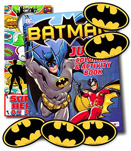 - Disney Coloring Books for Kids with Stickers - Mickey Mouse, Minnie Mouse, Moana, Black Panther and More! (Batman)