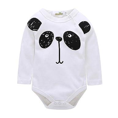 HCFKJ ReciéN Nacido Bebé NiñA NiñO Panda Estampado Ropa ...