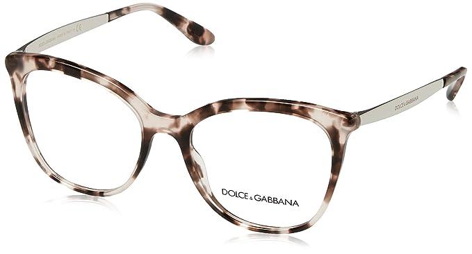 99e45d8ba8c909 Dolce   Gabbana - Monture de lunettes - Femme  Amazon.fr  Vêtements ...