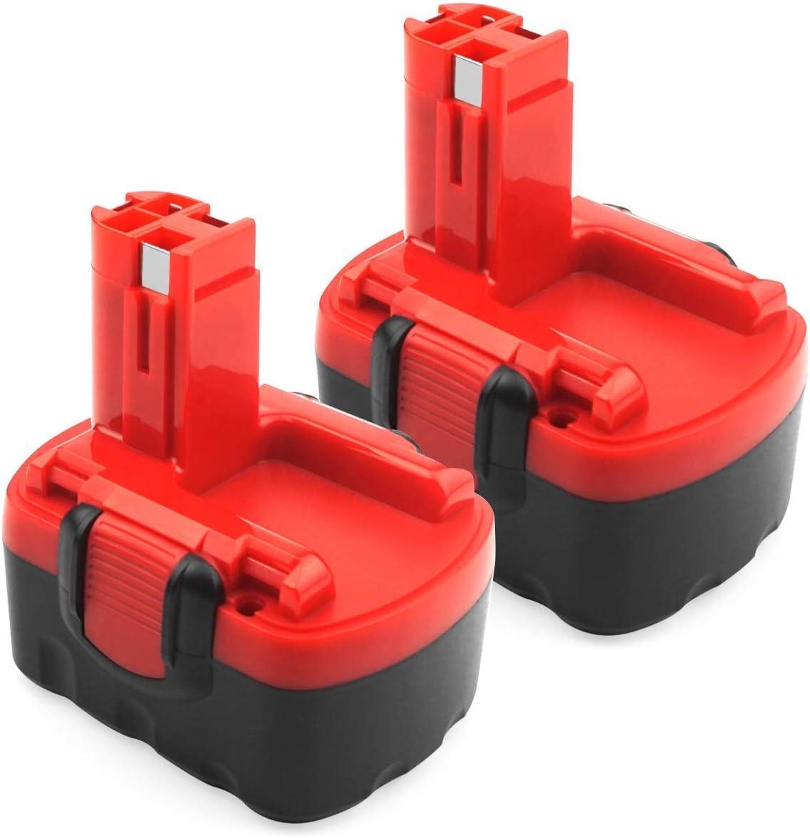 2 X ADVNOVO 14.4V 3.5Ah Ni-MH Batería para Bosch BAT038 BAT040 BAT041 BAT140 BAT159 2607335275 2607335276 2607335533 2607335534 2607335465 2607335678 2607335685 2607335711