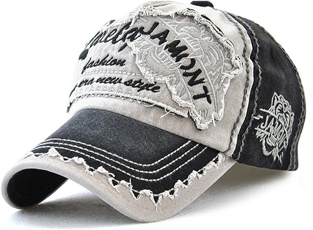 Rosennie Unisex Baseball Cap Einstellbar Mesh H/üte Baseballm/ütze Gestickte Sommerkappe f/ür M/änner Frauen Casual H/üte Hip Hop Stickerei Baseball Caps Modische Baseball M/ütze Snapback Trucker Hat