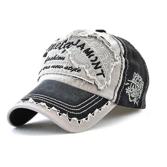 Estilo Vintage Gorra de Béisbol de Hombre y Mujer,Sombreros ...