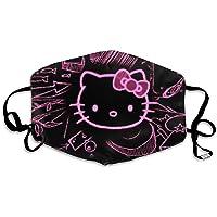 Multi Gebruik Gezicht Cover Up Hello Kitty Gezichtsdecoratie Ademend Anti Stof Herbruikbare Gezichtsdecoraties Cover…
