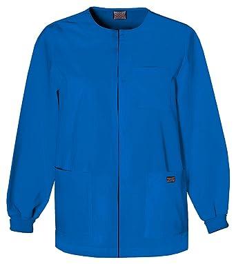 40ea2729f67 Amazon.com: Cherokee Men's Men's Snap Front Warm-Up Jacket, 4450: Clothing