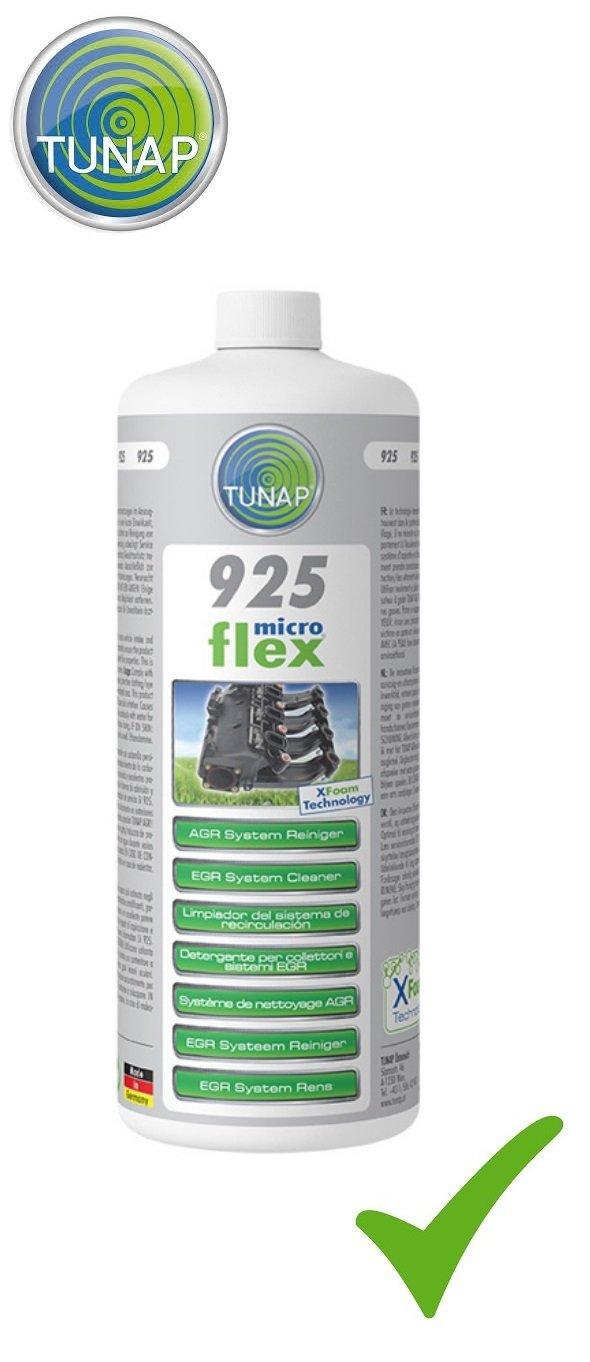 TUNAP MICROFLEX 925 AGR SYSTEM REINIGER Ansaugsystem Abgassystem Reiniger 1 L