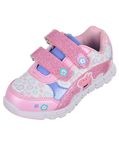 Peppa Pig Light Up Sneakers Girls Shoes
