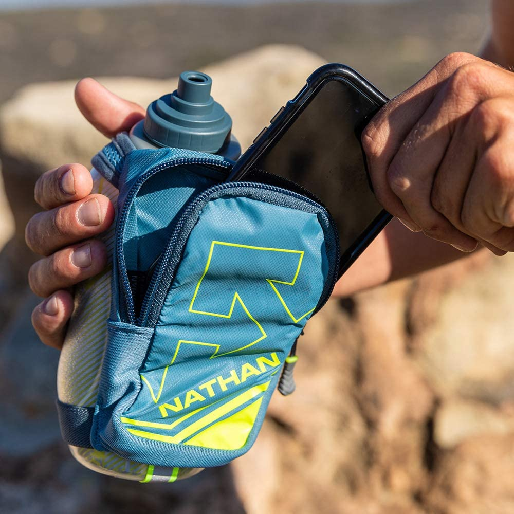 Nathan Running Water Bottle - Storage Pocket