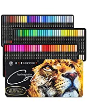 Hethrone Markers for Adult Coloring - 100 Colors Dual Tip Brush Pens Art Markers Set, Fine Tip Markers for Calligraphy Painting Drawing Lettering