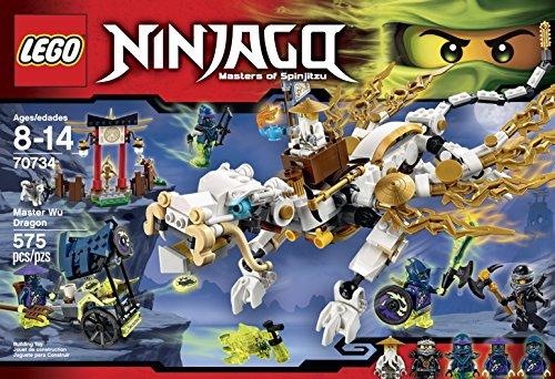 amazoncom lego ninjago 70734 master wu dragon ninja building kit toys games