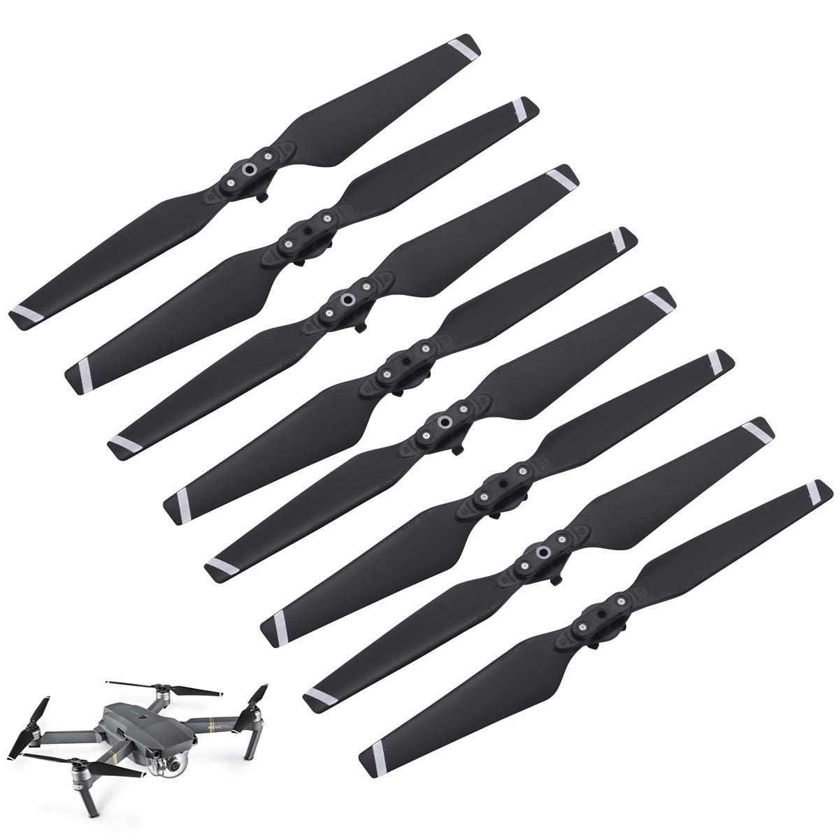 Repuesto Helices Para Drone Dji Mavic Pro - 8 Piezas [xsr]