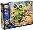 LOZ 3015 Green Robot Dinosaur Toy 129pcs Set, Battery Operated Toy, Build a 3-D Design Figure