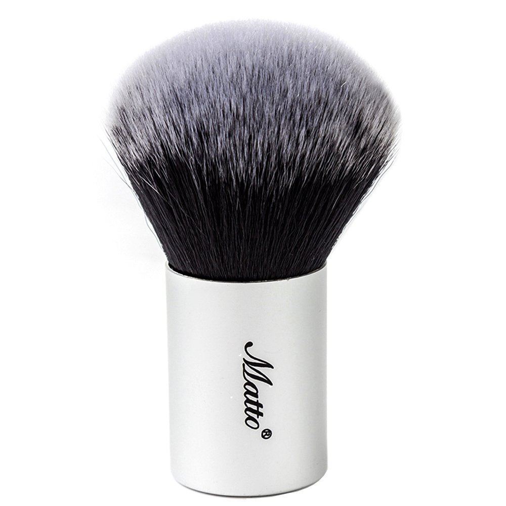 Matto Kabuki Brush for Powder Mineral Foundation Blending Blush Buffing Makeup Brush 1 Piece MZ