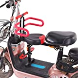 Front-Mount Electric Bike Seat for Kids/Child, Quick Release Electric Bicycle Seats for Children 3-7 Years