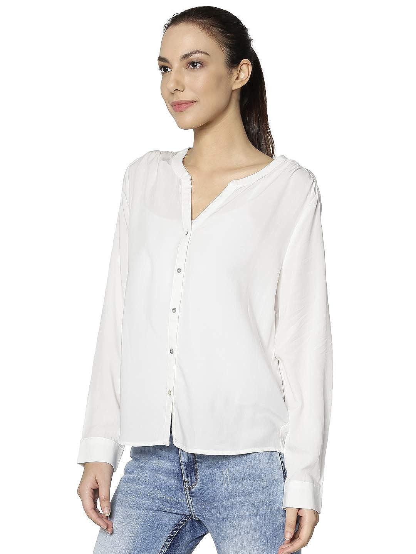 ONLY NOS Onlsugar Fallow L//S Shirt Noos Wvn Camicia Donna