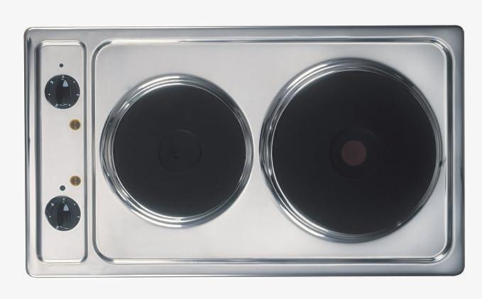 Amica KME13135E - Cocina eléctrica con dos fuegos (necesita instalación)