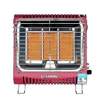 Little Sun Calentador de Gas Montado en la Pared, Estufa de Asar de la Casa, Gas Natural Licuado, Mini-Estufa Portátil de Calentamiento Rápido: Amazon.es: ...