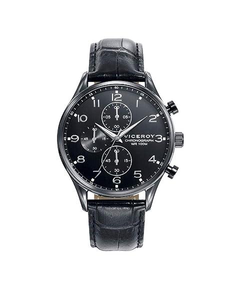 Reloj Viceroy para Hombre, acero, color negro/negro