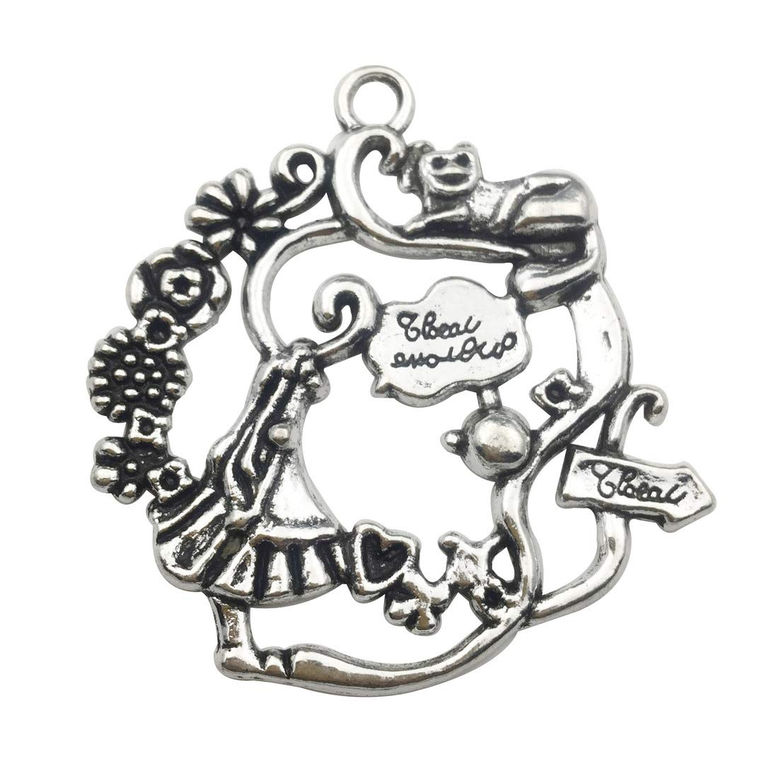 Youdiyla 70 pcs Sewing Machine Charms Craft Supplies Mixed Pendants Charms for Crafting,Tibetan Charms for Jewellery Making DIY Necklace Bracelet Earrings WM003